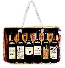 Bordeaux Sextet Weekender Tote Bag