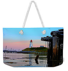 Border Lights Weekender Tote Bag