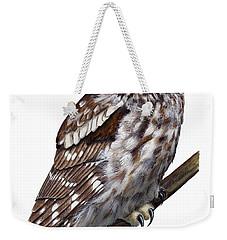 Boreal Owl Tengmalm's Owl Aegolius Funereus - Nyctale De Tengmalm - Paerluggla - Nationalpark Eifel Weekender Tote Bag