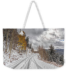 Boreas Pass Tracks Weekender Tote Bag
