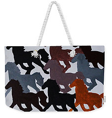 Born Free Weekender Tote Bag by Joseph Frank Baraba