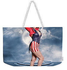 Born In The Usa Weekender Tote Bag