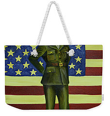 Born On The 4th Of July Weekender Tote Bag