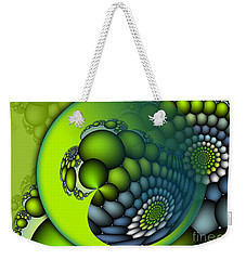 Born To Be Green Weekender Tote Bag by Jutta Maria Pusl
