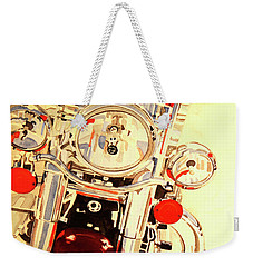 Born To Be Wild Weekender Tote Bag by Cynthia Powell