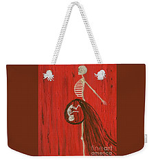 Born To Live E-birth Weekender Tote Bag by Talisa Hartley
