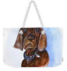 Bosely The Dog Weekender Tote Bag