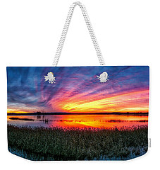 Bosque Sunrise Weekender Tote Bag