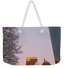 Boston 02/05/16 Weekender Tote Bag
