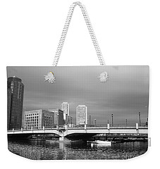 Boston Bridge Weekender Tote Bag by Barbara Bardzik