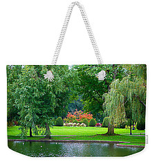 Boston Common Study 3 Weekender Tote Bag