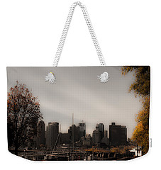Boston In A Soft Light Weekender Tote Bag by Lisa Brandel