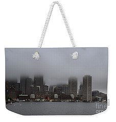 Boston In The Fog Weekender Tote Bag