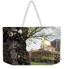 Boston Ma State House From Afar Weekender Tote Bag