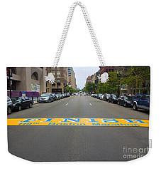 Boston Marathon Finish Line Weekender Tote Bag