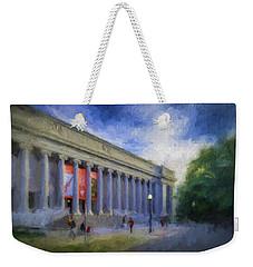 Boston Mfa On The Fenway Weekender Tote Bag