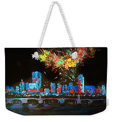 Boston On The Charles Weekender Tote Bag