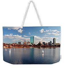 Boston On The Charles  Weekender Tote Bag