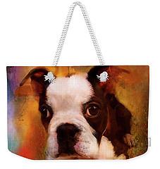 Boston Puppy Weekender Tote Bag