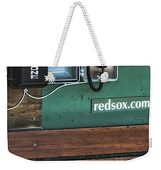 Boston Red Sox Dugout Telephone Weekender Tote Bag