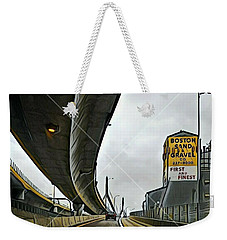 Boston Sand And Gravel  Weekender Tote Bag