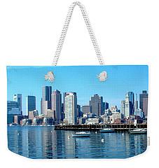 Boston Skyline C Weekender Tote Bag