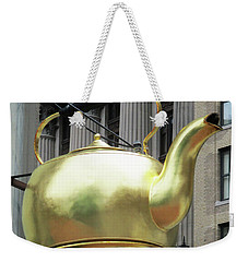 Boston Tea Pot Weekender Tote Bag