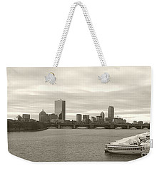 Boston View Weekender Tote Bag