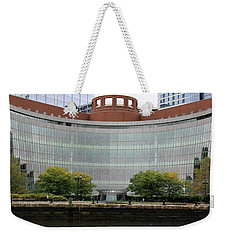 Boston Waterfront Weekender Tote Bag