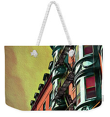 Boston's Famous North Square Weekender Tote Bag
