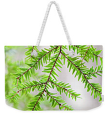 Weekender Tote Bag featuring the photograph Botanical Abstract by Christina Rollo