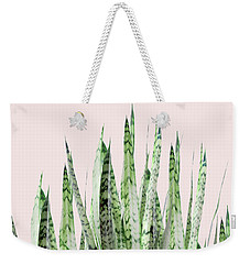Botanical Balance Weekender Tote Bag by Uma Gokhale