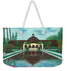 Botanical Building In Balboa Park 02 Weekender Tote Bag