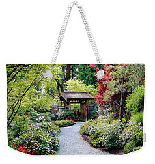 Weekender Tote Bag featuring the photograph Botanical Garden by Elf Evans