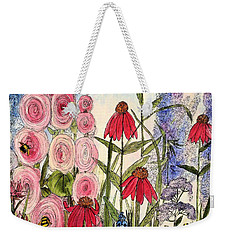 Botanical Wildflowers Weekender Tote Bag