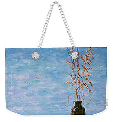 Bottle And Sea Oats Weekender Tote Bag