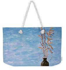 Bottle And Sea Oats Weekender Tote Bag