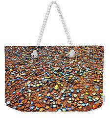 Bottlecap Alley Weekender Tote Bag