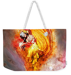 Weekender Tote Bag featuring the digital art Bottled Wishes by Nikki Marie Smith