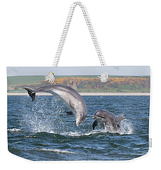 Bottlenose Dolphin - Moray Firth Scotland #49 Weekender Tote Bag