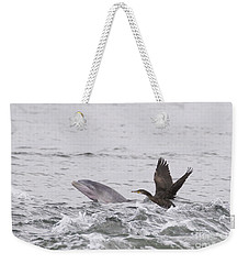 Baby Bottlenose Dolphin - Scotland #10 Weekender Tote Bag
