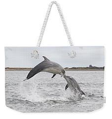 Bottlenose Dolphins - Scotland #1 Weekender Tote Bag