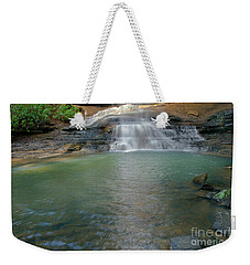 Bottom Of Falls Weekender Tote Bag