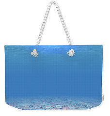Weekender Tote Bag featuring the digital art Bottom Of The Sea by Phil Perkins