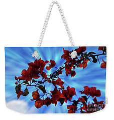 Bougainvillea At Joe's Secret Garden Iv Weekender Tote Bag