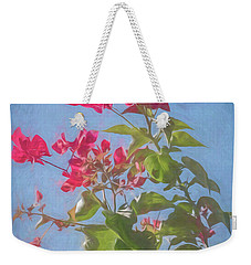 Bougainvillea Morning Weekender Tote Bag