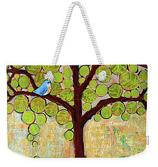 Boughs In Leaf Tree Weekender Tote Bag