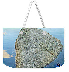 Boulder At Echo Lake Weekender Tote Bag