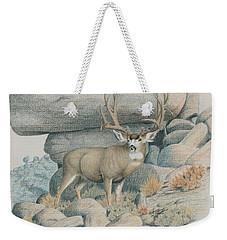 Boulder Buck  Weekender Tote Bag