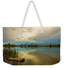 Weekender Tote Bag featuring the photograph Boulder County Colorado Calm Before The Storm by James BO Insogna